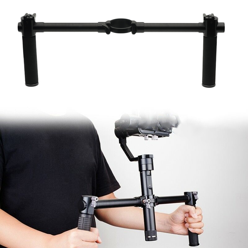 Handheld Dual Extended Handle Hand Grip for Zhiyun Crane 2 QJY99Handheld Dual Extended Handle Hand Grip for Zhiyun Crane 2 QJY99