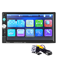 Auto Radio 2 din car radio Reproductor de Vídeo 7 ''HD Bluetooth Retrovisor Estéreo FM MP3 MP4 MP5 Audio USB Electrónica Automotriz autoradio