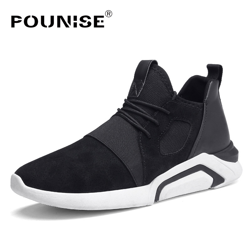 New Men Sneakers 2017 Pig Suede Leather Casual Shoes Men Flats Fashion Brand Designer Camouflage Male Shoes Leisure Shoes