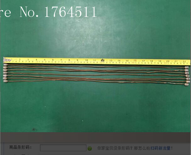 [BELLA] SMA-JJ/SMA -SMA DC-20GHZ 0.57M Imported RF Microwave Tube Test Cable  --5PCS/LOT
