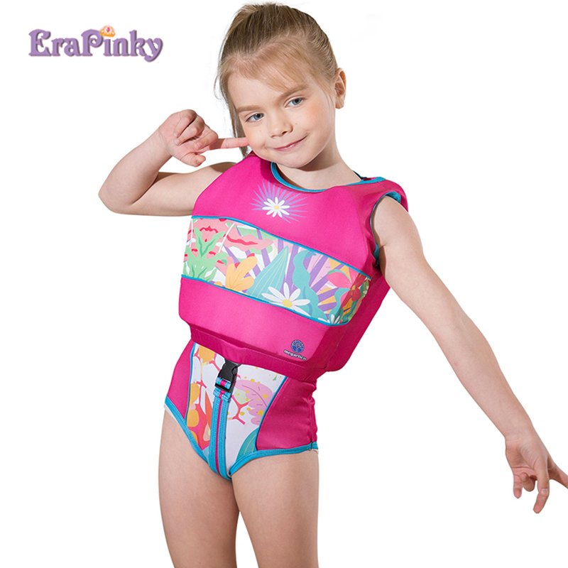 Erapinky 2 6 Years Swim Vest Swimsuit Baby Girl Life Vest -6726