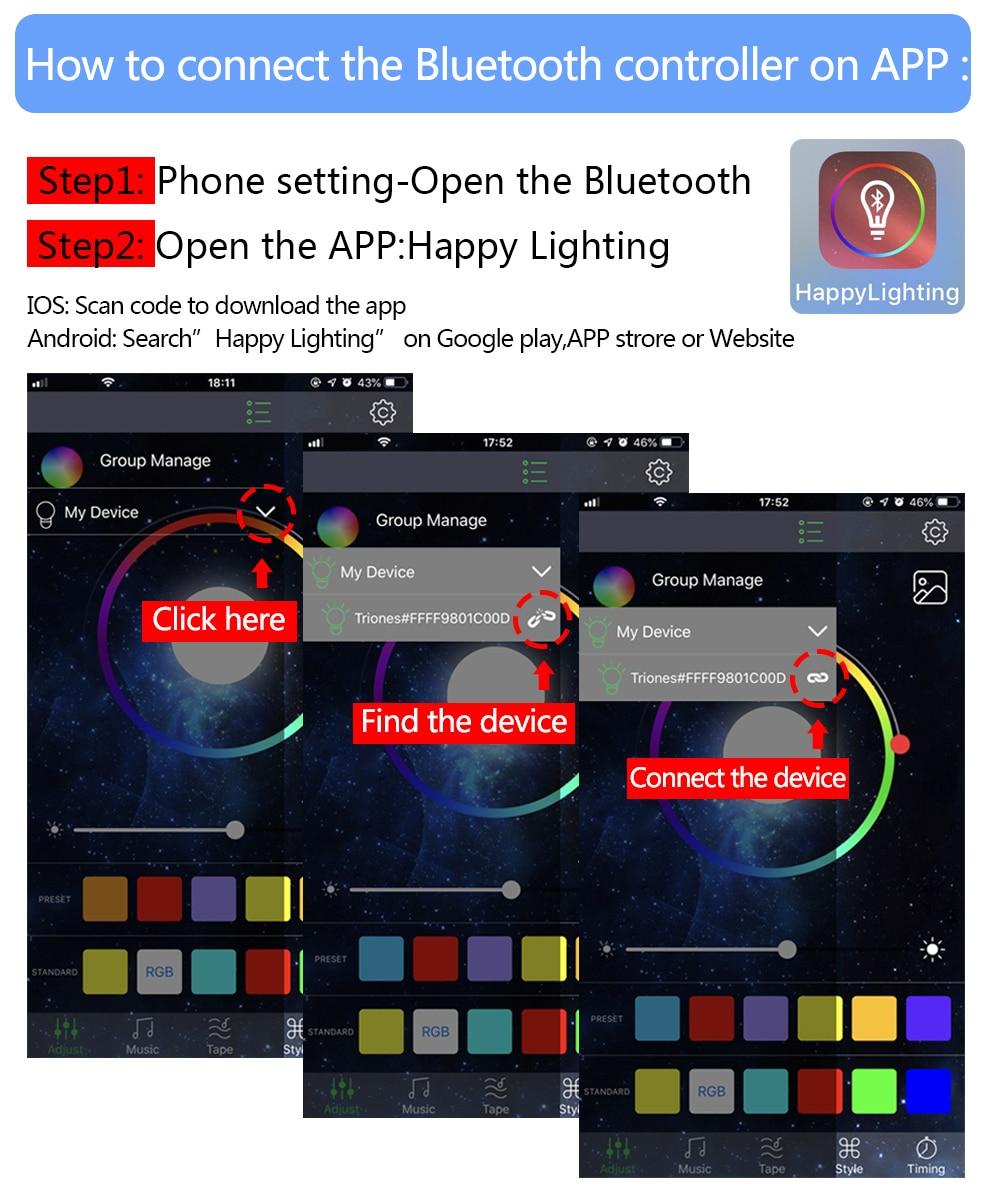 HTB1EEnmOYvpK1RjSZFqq6AXUVXaE USB LED Strip 5050 RGB Changeable LED TV Background Lighting 50CM 1M 2M 3M 4M 5M DIY Flexible LED Light.