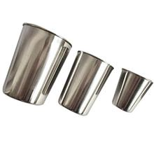 50ml 30ml 180ml 320ml Stainless Steel Juice Beer Water Cup Unbreakable Stackable Pint Cups Mug Coffee Drinking