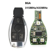 Smart Remote Key 3 Button 315/433mhz BGA style with Chip for Mercedes-Benz 2000+ цена