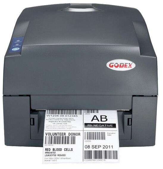 Original Brand New Genuine GODEX G500U 4 Inch Thermal Transfer & Direct Thermal 203dpi Desktop Lable Barcode Printer