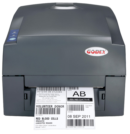 Original Marca New Genuine GODEX G500U 4 polegada 203 dpi Desktop de Transferência Térmica & Térmica Direta Impressora de código de Barras Lable