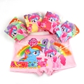 5Pcs/1lot Kids Girls Underwear Milk Fabrics 2016 New My Children Little Pony Cartoon Panties Cute Underpants For 3-11 Years KU22