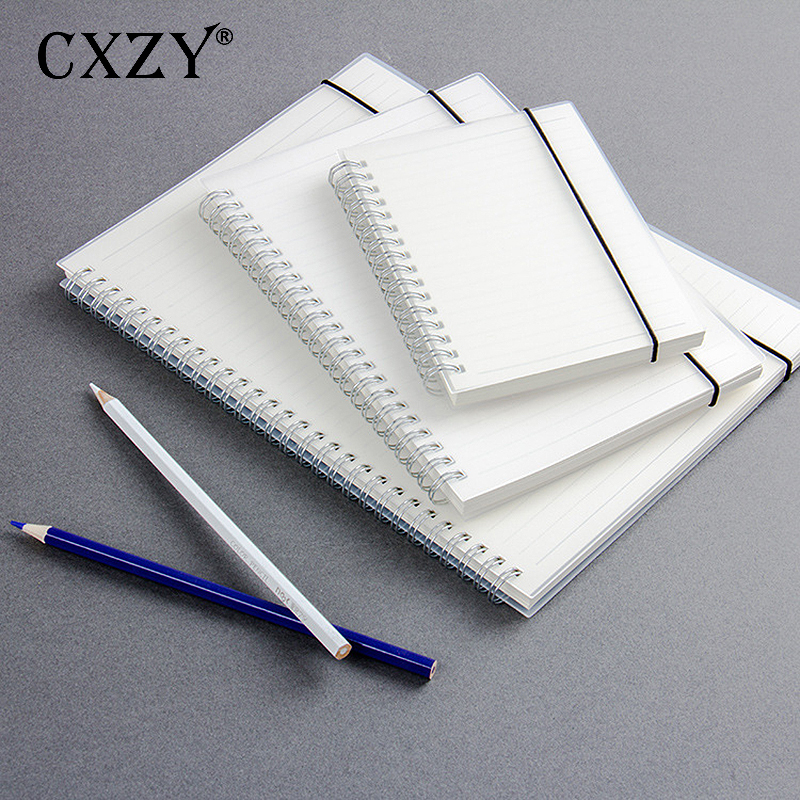 2019 A5 A6 Dotted Grid Blank Spiral Notebook Paper Note Sketchbook Travel Journal Diary Filofax Muji Style Planner Bullet Agenda
