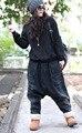 Harajuku Vintage Feminina Rasgada Boho Pantalon Taille Haute Femme Baggy Loose Harem Boyfriend Denim Jeans Pants Women Trousers