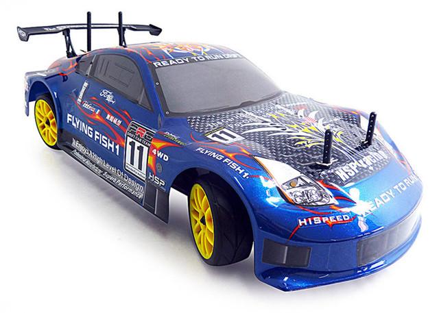 HSP Rc Carro 4wd Nitro Gás Carro de Controle Remoto de Energia 1/10 Racing 94122 Xstr escala On Road Touring Passatempo Deriva de Alta Velocidade carro