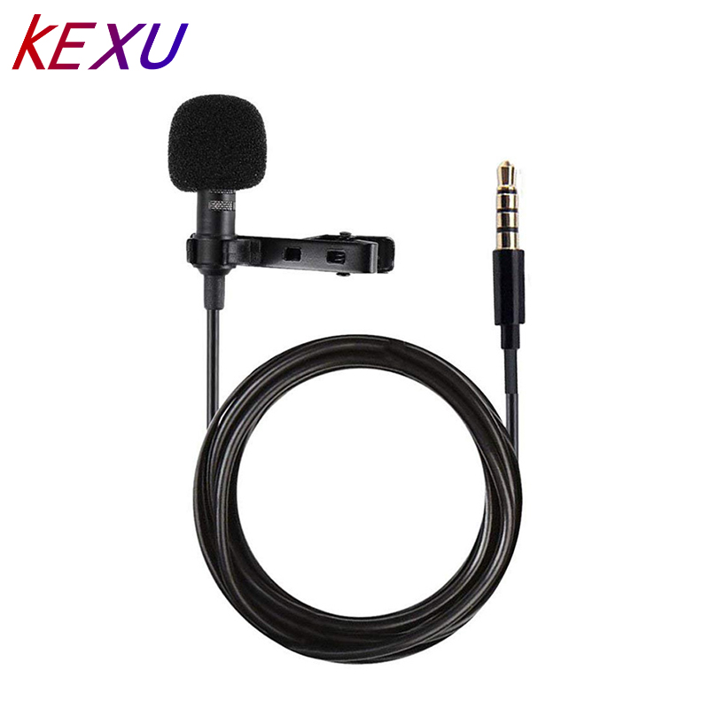 New Arrival YALI Lapel Clip-on Omnidirectional Condenser Conference Microphone Lapel Wired Microphone For Mobile Phones