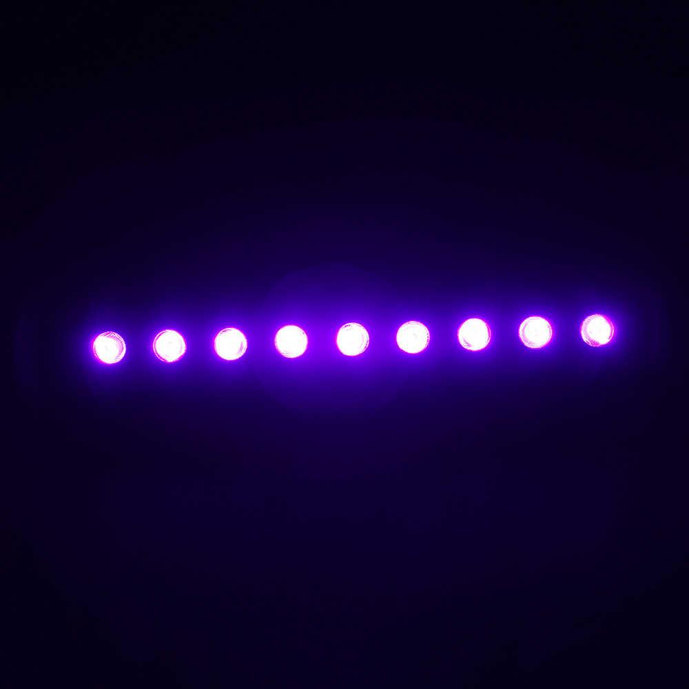 Tomshine однорядные высокой Яркость черный LE-D пятно света бар освещения 45 градусов балки металлические Корпус вечерние украшения