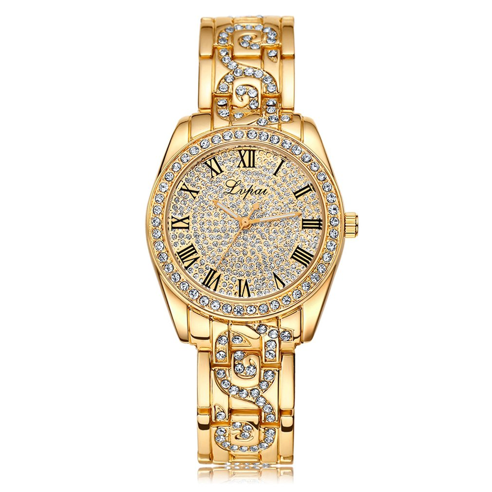 GENBOLI Fashion Women Watch With Diamond