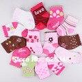 Meias infantis 2016 Nova Primavera 6 pares/lote Novo meias bonitos Do Bebê Meias Meninas Meias Bebê Acessórios Do Bebê 0-24Month infantil