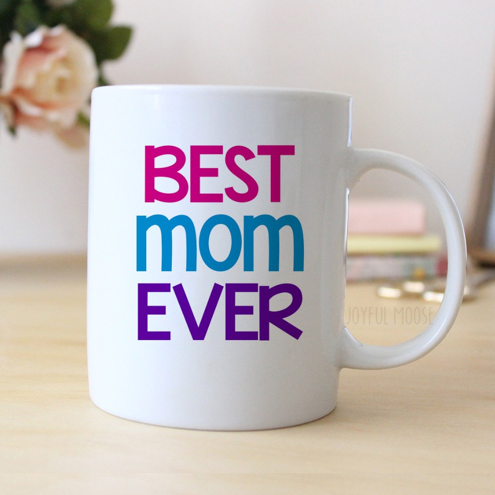 Best Mom Ever Cool Photo Coffee Mugs Morph Mug Novelty Printed Tea Art Home Decal Mother S Day Gift Birthday Gifts In From Garden On