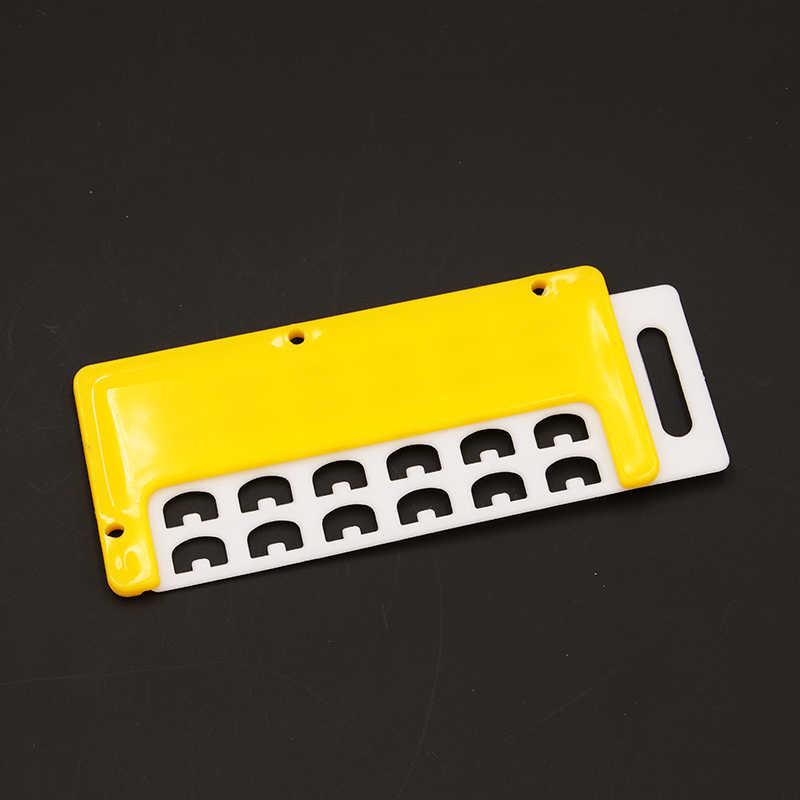 Dlkklb 2 Kit Alat Pembiakan Lebah Anti Melarikan Diri Lebah Ratu Plastik Spacer Bingkai Sarang Lebah Alat Melarikan Diri Blocker Apiculture Peralatan