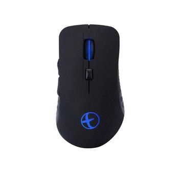 Modo duplo sem fio recarregável do rato 4.0g de bluetooth para desktops o rato silencioso sem fio de usb do jogo de landas bluetooth 2.4 rgb conduziu