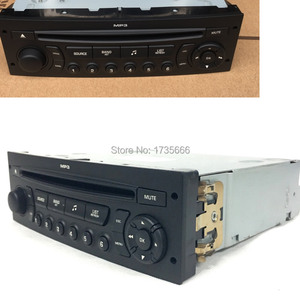 Image 2 - NEW RD45 car radio CD player supports Bluetooth AUX USB MP3 for Citroen C3 C4 C5 for Peugeot 207 206 307 308 807