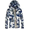 Hot Selling 2017 New Arrival Men Fashion Camouflage Jacket Summer Tide Male Hooded Thin Sunscreen Coat Wholesale 40hfx