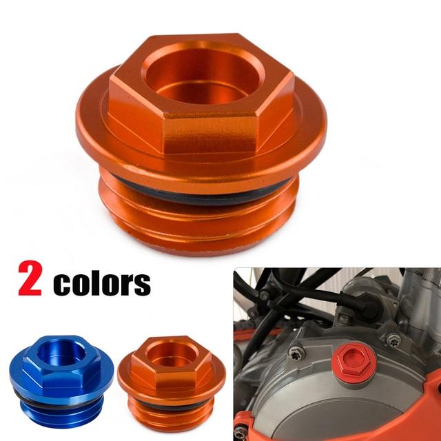 b8acfc8156c98 CNC Oil Filler Cap Ficha Para KTM 50 65 85 125 200 250 300 350 450 ...