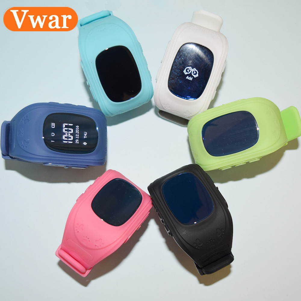 2016 Smart Phone Kid Safe GPS Watch Wristwatch SOS Call Location Finder Locator Tracker for Children