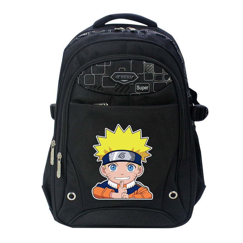 Naruto write round eyes backpack fashion casual backpack teenagers Men women's Student School Bags travel Laptop Bag zelda laptop backpack bags cosplay link hyrule anime casual backpack teenagers men women s student school bags travel bag