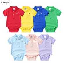 Orangemom Brand New born boy and girl baby clothes summer 2019 Baby clothing short sleeve 7 colors Bodysuit Newborn JumpSuits