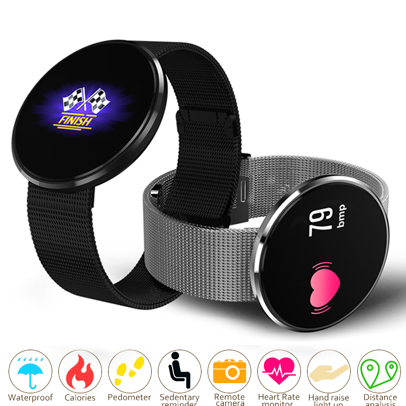 Unisex Smart Watch Women Men Blood Oxygen Pressure Heart Rate Monitor Pedometer App Bluetooth Smart Sport Watch Round Wristwatch smart watch women bluetooth sport waterproof round smart band watch pedometer heart rate monitor