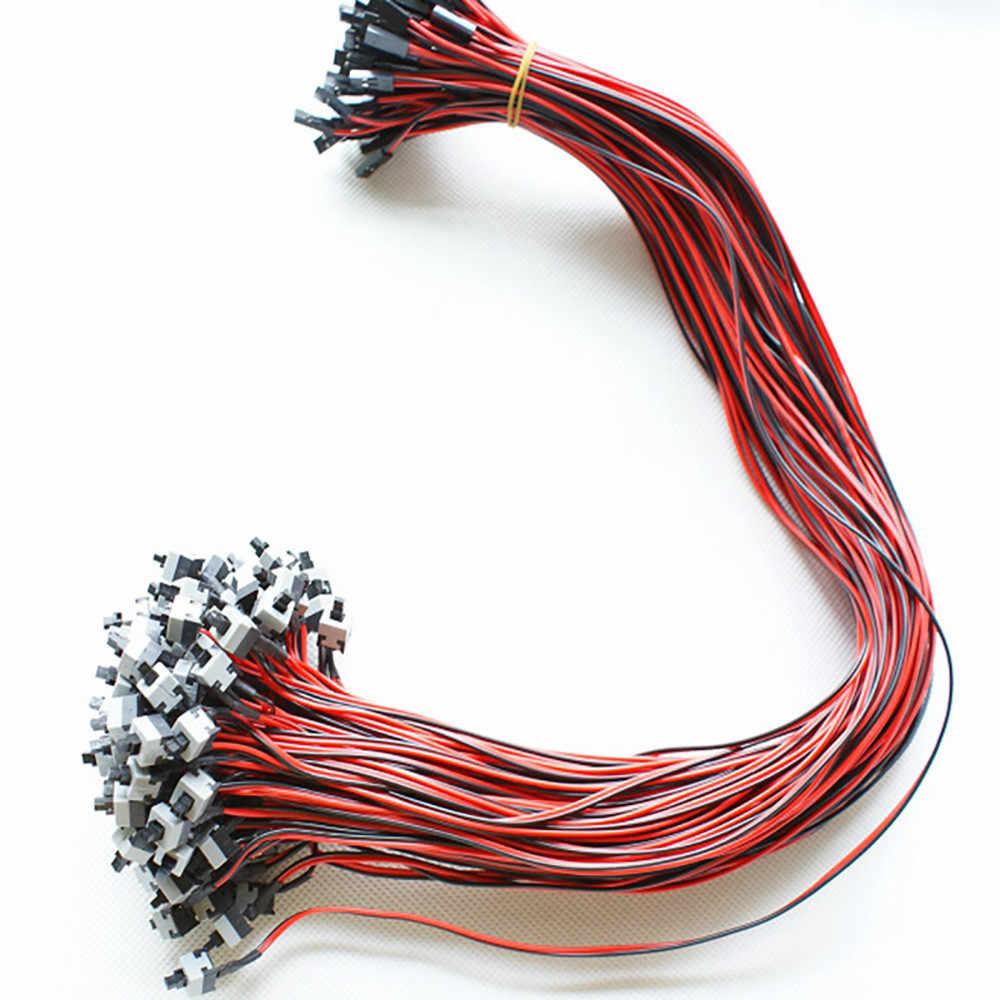 Kabel wymiana płyty głównej ATX włączanie/Off resetowania komputer stancjonarny przewód zasilający dla płyta główna z chwilową (SPST) przycisk * 30