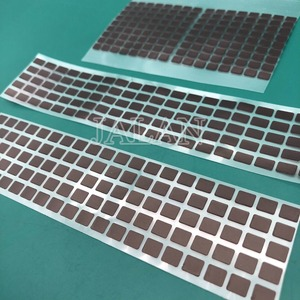 Image 4 - Pegatina negra para teléfono X Xs xs max, adhesivo para pantalla LCD, Cable flexible, pegamento adhesivo, 100 Uds.