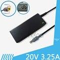 65 Вт 20 В 3.25A 7.9*5.5 мм AC Адаптер Питания Питания для IBM (Lenovo) R400 R500 X200 X300 T410S T410 T510 SL510 L410 L420 зарядное устройство