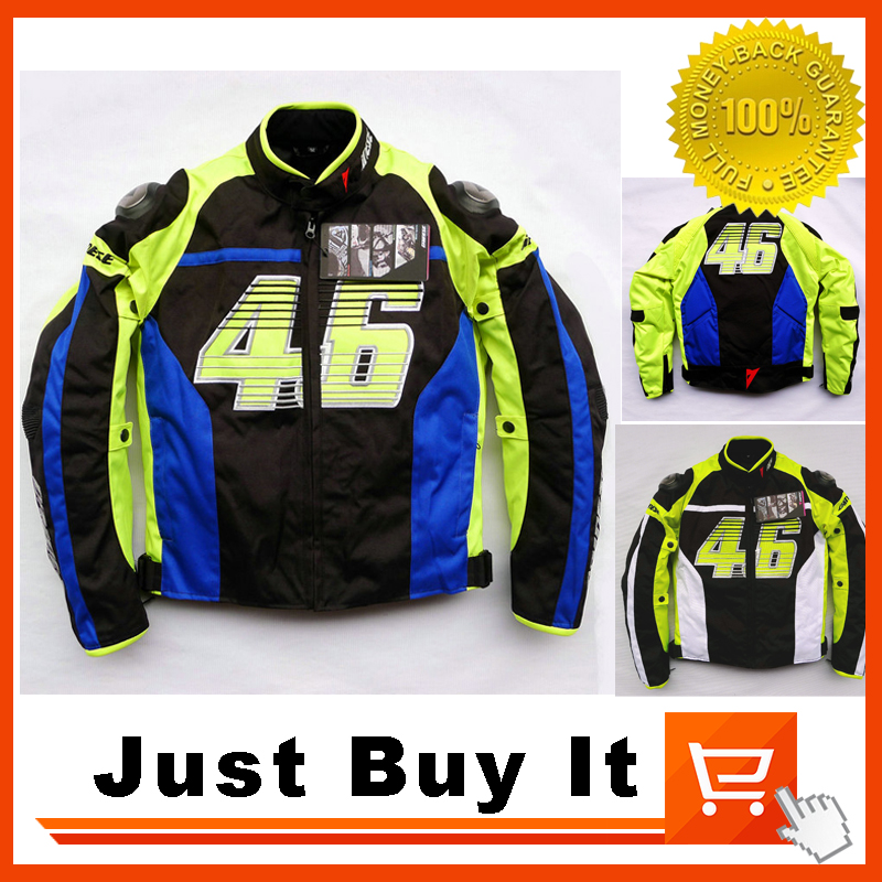Motorcycle Jacket NO 46 Rossi Racing Suit Cotton Gall Jacket Breathable Waterproof Men Coat With Hard