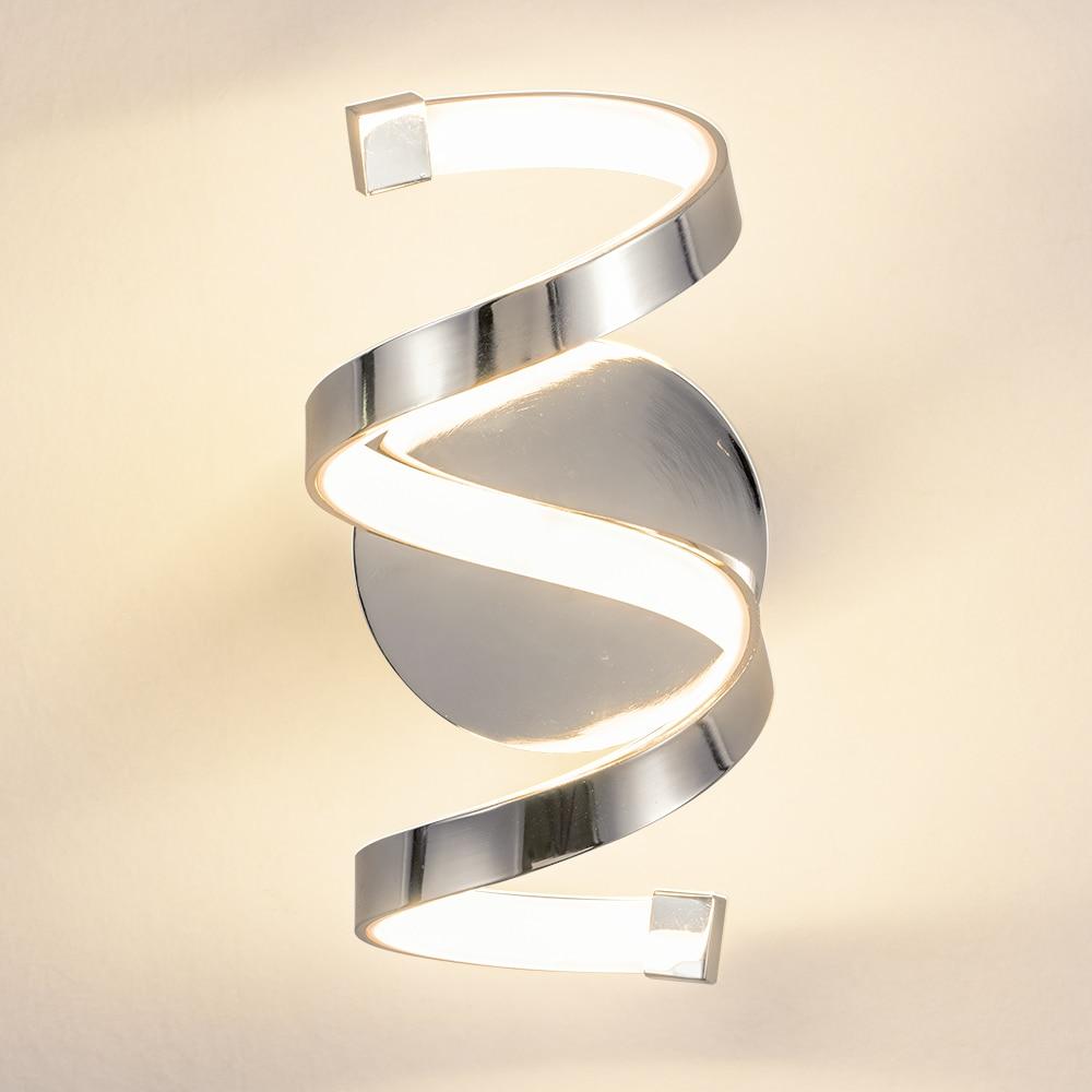 Artpad nordic led cama lâmpada de parede