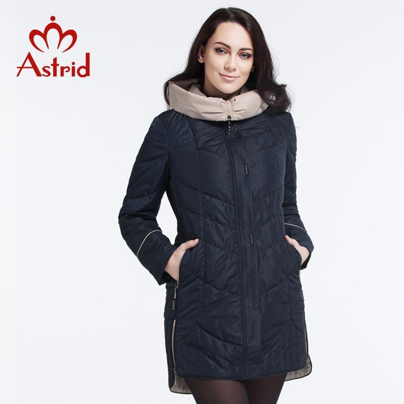 Astrid jas winter vrouwen jas Casual vrouwelijke Parka Vrouwelijke Hooded Jassen solid oekraïne Plus Size fashion stijl beste AM  5810-in Parka's van Dames Kleding op  Groep 3