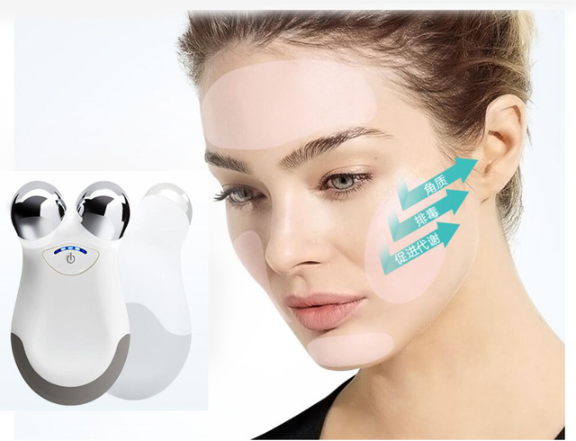 Microcurent facial stimulator