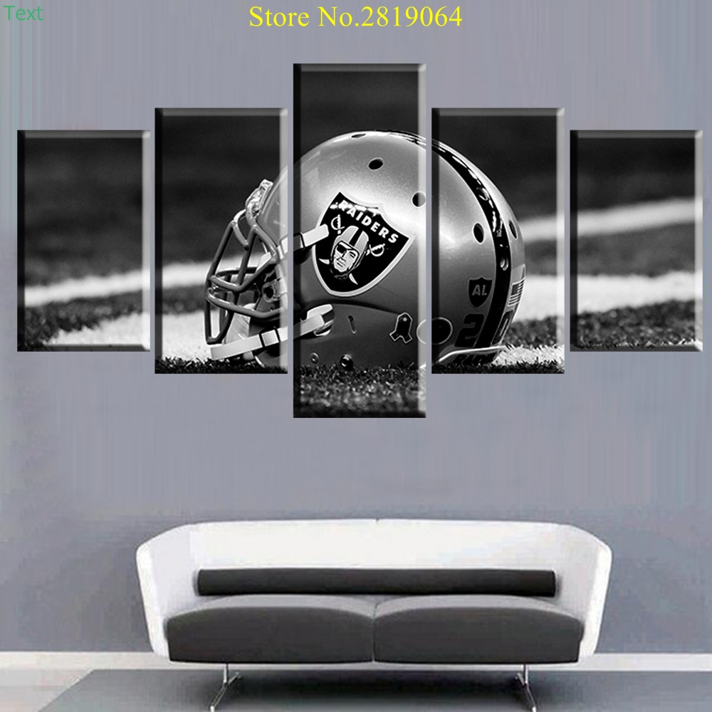 Unframed Modern 5 Panel Wall Painting Helmet Patriot Poster Home Decor For Living Room China