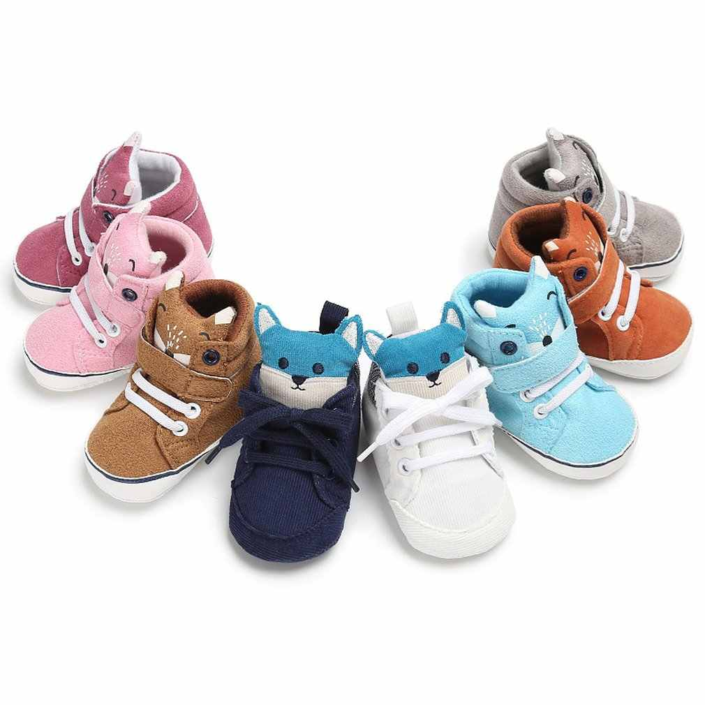 OUTAD hot sale Baby Kids Toddler Sneaker Winter Autumn Warm Shoes Infant  baby Boys Girls Fox b97ac68147cf