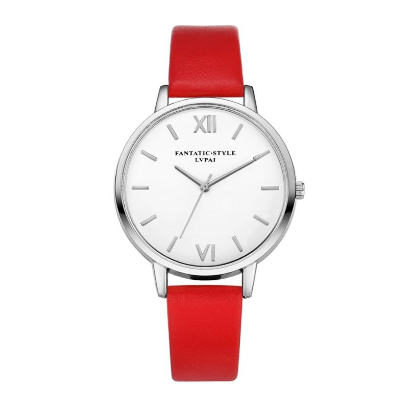 Excellent Quality Luxury Quartz Watch Women Watches Ladies Leather Fashion Dress Wristwatch Montre Femme Relogio Feminino