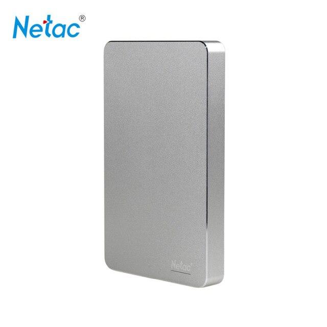 Netac Оригинальный K330 USB 3.0 Внешний Жесткий Диск 2 ТБ 1 ТБ 500 ГБ HDD Металлический Корпус HD Жесткий Диск С розничной упаковка