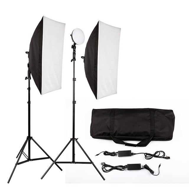 Hot Sale LED Photography Photo Studio Lighting Kit Photo Video Equipment Softbox Light Tent Set with  sc 1 st  AliExpress.com & Hot Sale LED Photography Photo Studio Lighting Kit Photo Video ...