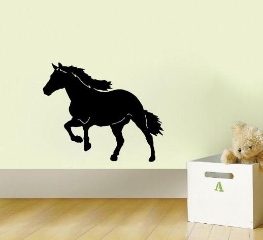 Horse Art Watercolor Equestrian S Room Dec