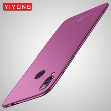 Redmi Note 6 Pro Case YIYONG Matte Cover For Xiaomi Redmi Note 5 7 Pro Case Xiomi Global PC Cover For Xiaomi Note 7 6 5 Pro Case zroteve case for xiaomi redmi note 7 pro case pu wallet cover redmi note 7 global flip cover leather case xiomi redmi note 7 pro