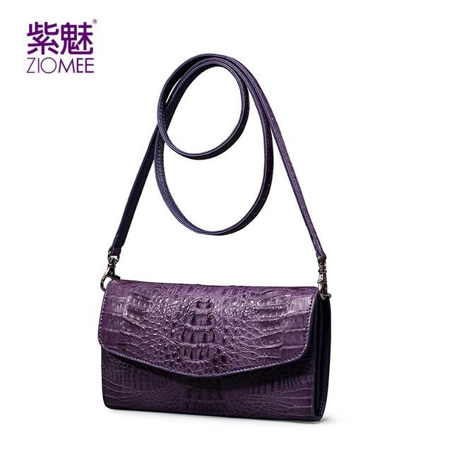 100%New genuine crocodile leather women envelope day clutch bag ladies luxury brand handmade evening shoulder bags party handbag