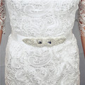 Hot Sales Bridal Belts 270cm Belt For Weddingd Ribbon Sashes Satin With Crystal Rhinestone Sashes Wedding Accessory