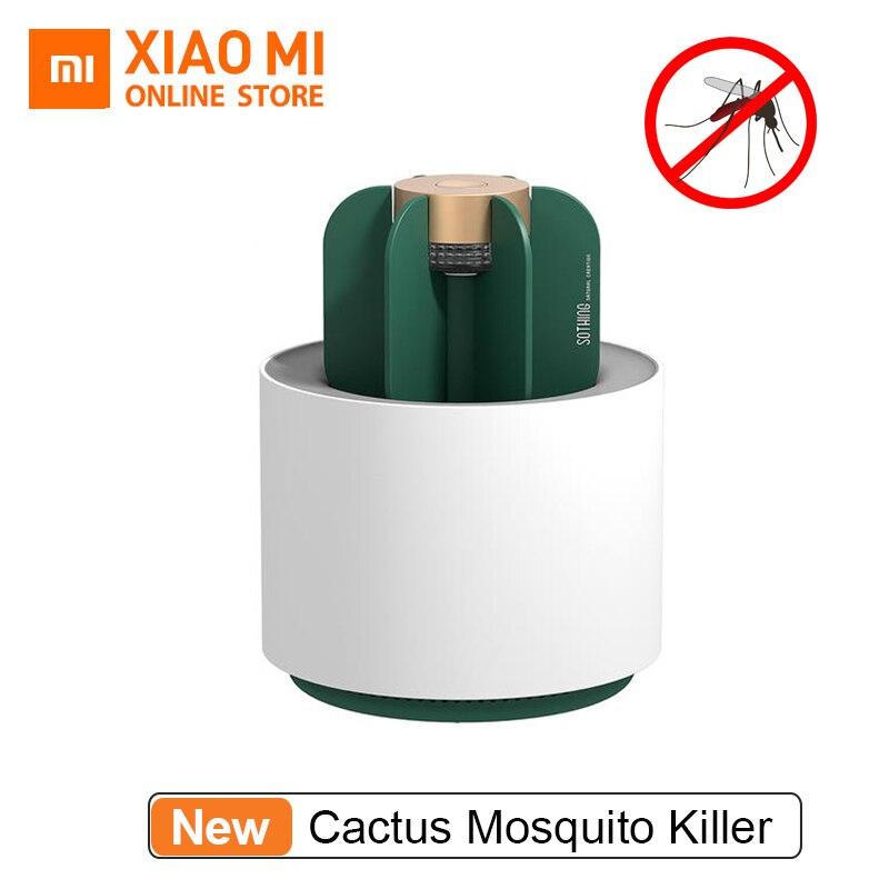2019 Xiaomi Mijia Sothing лампа для уничтожения насекомых подвижный портативный бездымный без запаха Xiaomi умный дом кактус комаров убийца