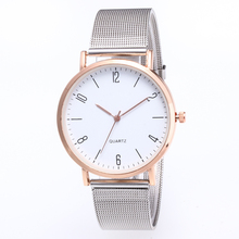 купить New Famous Brand Silver Casual Quartz Watch Women Metal Mesh Stainless Steel Dress Watches Relogio Feminino Wrist Watch Hot Sale по цене 233.82 рублей