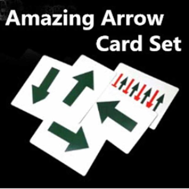 Increíble flecha tarjeta flecha dirección cambio Trucos de magia ...