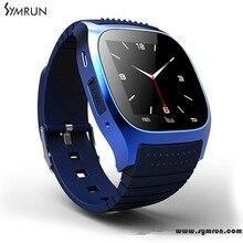 Symrun 2016 New M26 Bluetooth Smart Watch Wristwatch R Watch Smartwatch With Dial Sms Remind Smart Watch Cheap