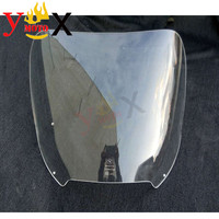 Мотоцикл ясно лобовое стекло дефлектор воздуха для BMW K1200LT K1200 LT Стандартный высота 48 см, диаметр 4 мм, Толщина
