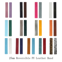 Legenstar 40/25/14mm Pu Leather Reversible Stainless Steel Bracelet Belt Cuff Bangle Handmade Accessories Women Decor Jewelry
